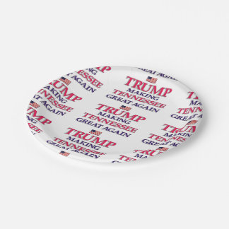 Trump Tennessee Paper Plate