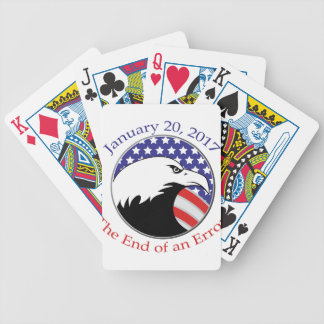 Trump: The End of an Error Bicycle Playing Cards