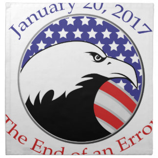 Trump: The End of an Error Napkin