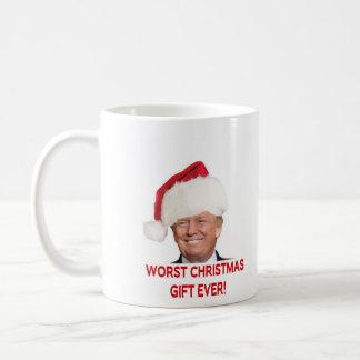 Trump, the worst Christmas gift ever! Coffee Mug