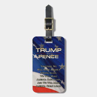 TRUMP TOGETHER WE WILL LUGGAGE TAG