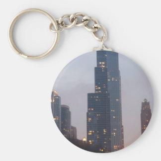 Trump Tower Key Chain