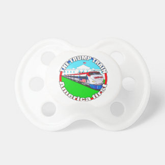 Trump Train America first Baby Pacifiers