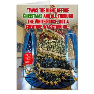 Trump Twas The Night Christmas Joke Card