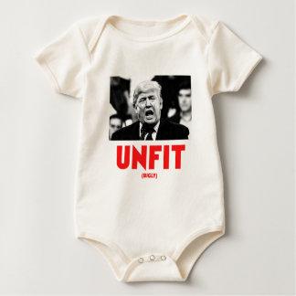 TRUMP UNFIT BABY BODYSUIT