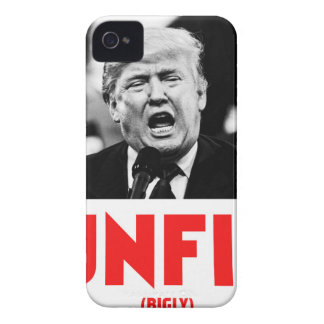 TRUMP UNFIT Case-Mate iPhone 4 CASES