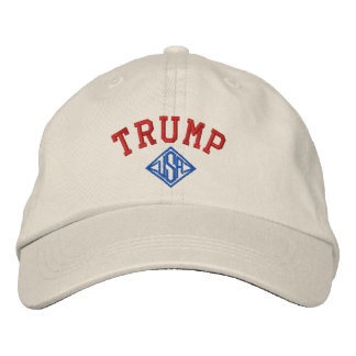 TRUMP USA BASIC ADJUSTABLE CAP EMBROIDERED HATS