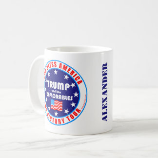 Trump Victory Tour Add Your Name Trump Supporter Coffee Mug