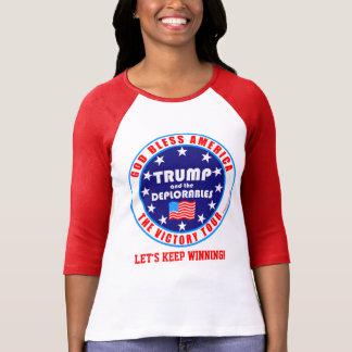 Trump Victory Tour Keep Winning Deplorables T-Shirt
