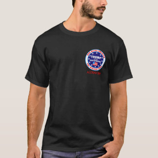 Trump Victory Tour Political Front And Back T-Shirt