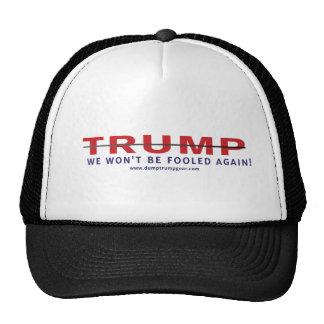 Trump We Won't Be Fooled Again Trucker Hat