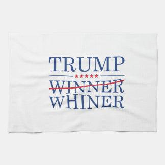 Trump Winner Whiner Kitchen Towel
