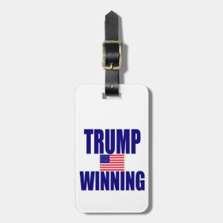 Trump winning bag tag