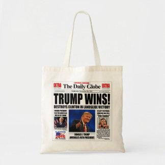 Trump Wins! Funny Anti Clinton Newspaper Satire
