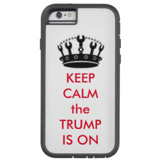 "TRUMP with Craft Crown ""Keep Calm"" Cell Phone CASE"
