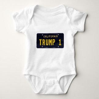 Trump won baby bodysuit