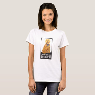 Trumpadoodle Bad Dog - Dog T-Shirt- Women's T-Shirt