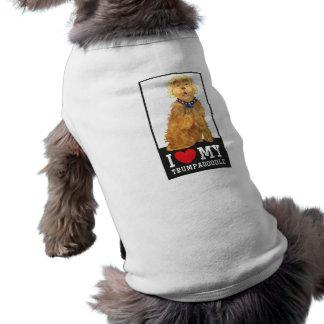 Trumpadoodle Love My Dog Dog T-Shirt