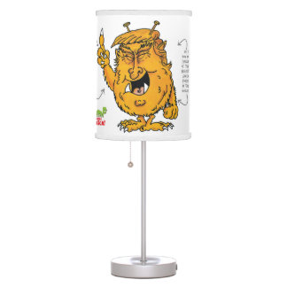 Trumped by Trump Table Lamp