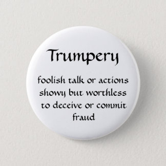 Trumpery 2 Inch Round Button