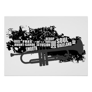 Trumpet and styles poster