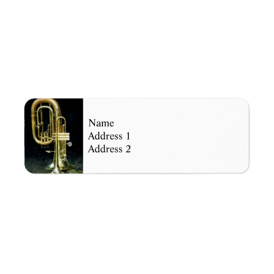 Trumpet and Tuba Return Address Label