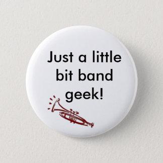 Trumpet Band Geek 2 Inch Round Button