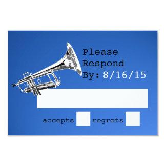 Trumpet Blue Response Card