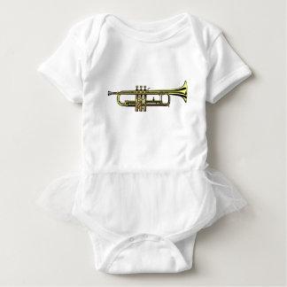 Trumpet Cartoon Baby Bodysuit