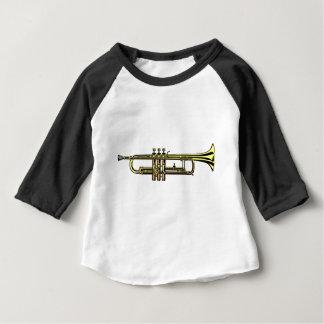 Trumpet Cartoon Baby T-Shirt
