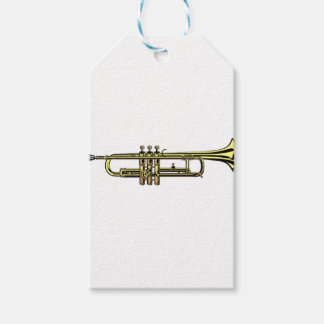 Trumpet Cartoon Gift Tags