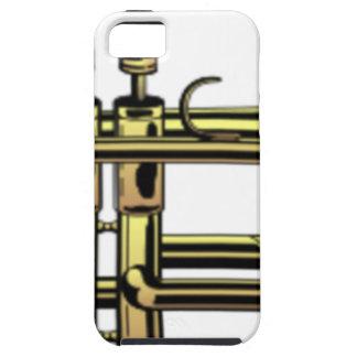 Trumpet Cartoon iPhone 5 Case