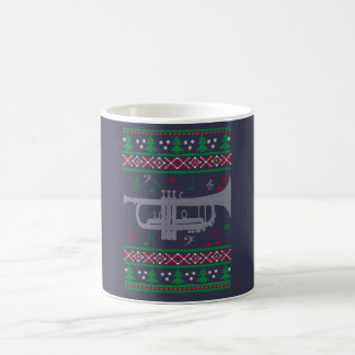 Trumpet Christmas Coffee Mug
