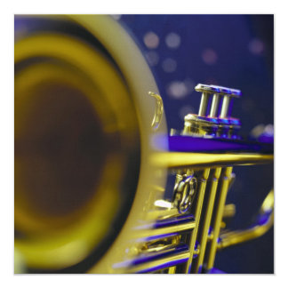 Trumpet Close-Up 3 Card