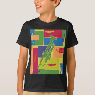 Trumpet Colorblocks T-Shirt