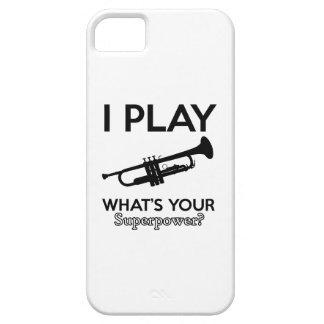 trumpet designs iPhone 5 cover