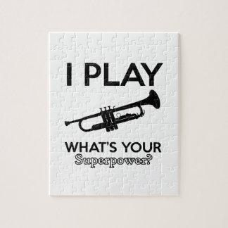 trumpet designs puzzle