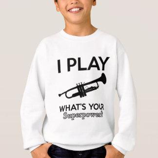 trumpet designs sweatshirt