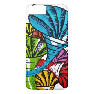 Trumpet doodle iPhone 7 plus case