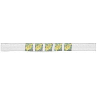 Trumpet Garden Flower Yellow Hair Tie
