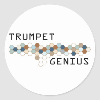 Trumpet Genius Sticker
