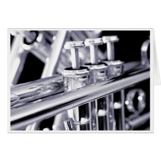 Trumpet Greeting Card