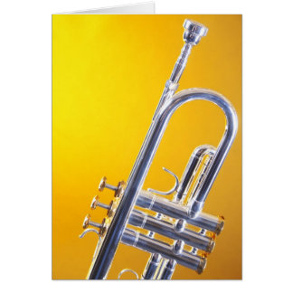 Trumpet Greeting Cards