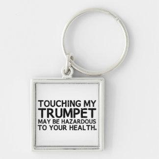 Trumpet Hazard Keychain