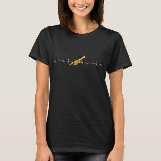 Trumpet heartbeat T-Shirt