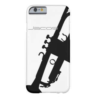Trumpet iPhone 6 case/5S with Custom Name Barely There iPhone 6 Case