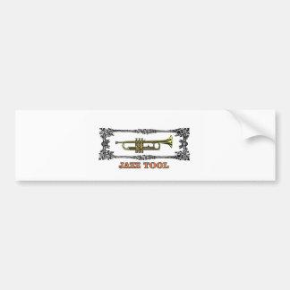 trumpet jazz tool bumper sticker