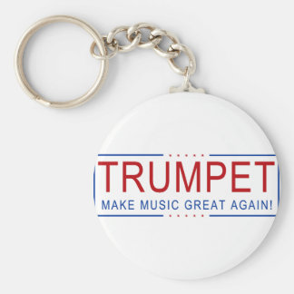 TRUMPET - Make Music Great Again! Keychain