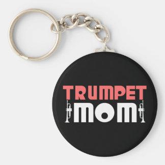 Trumpet Mom Keychain