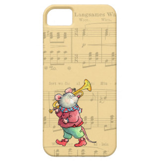 Trumpet Mouse on Sheet Music - Case-nate iPhone 5 iPhone 5 Cases